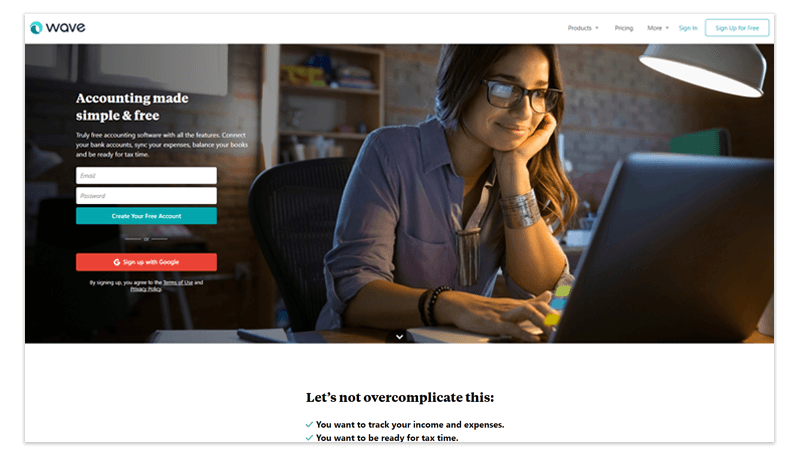 To-the-point Landing Page
