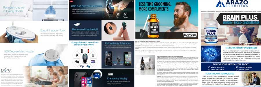 Amazon EBC Examples