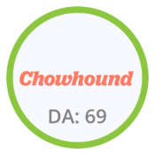 Chowhound Domain Authority