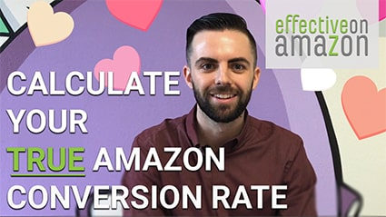 Calculating Your Amazon Conversion Rate Video Thumbnail