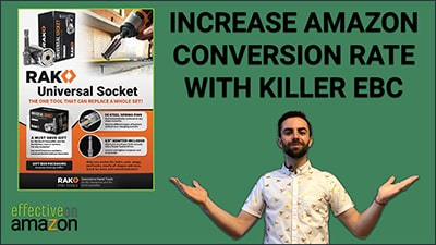 Increase Amazon Conversion Rate with EBC
