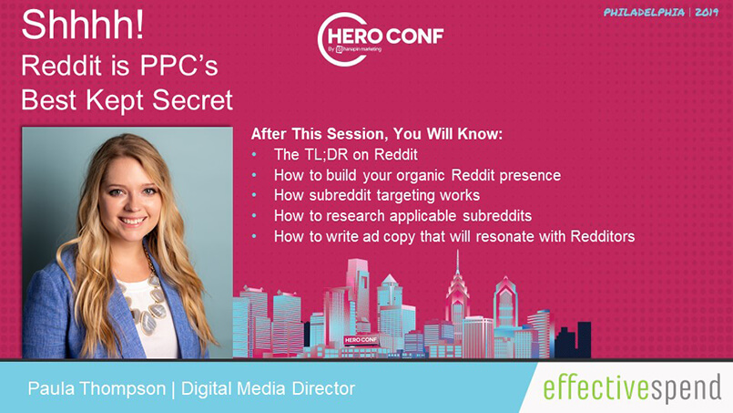 Effective Spend Speaks at Top PPC Industry Conference - Hero