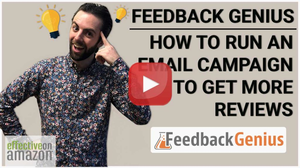 Feedback Genius: How to Run an Email Campaign to Get More Reviews Video Thumbnail