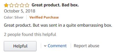 Tushy Negative Review