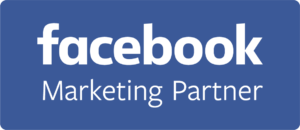 Facebook Marketing Partner Badge - Blue