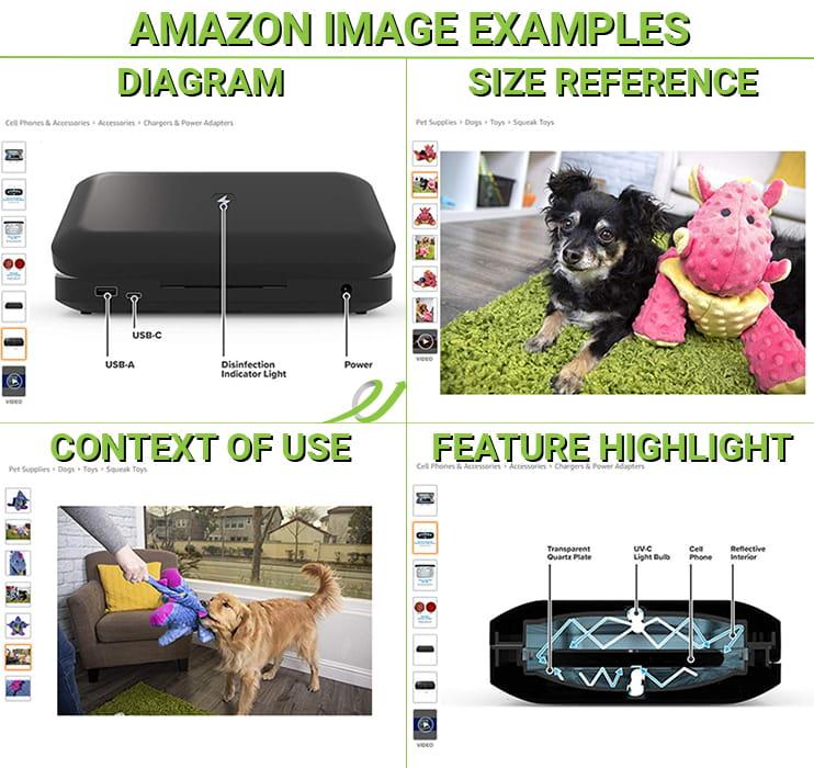 Amazon Optimized Image Examples