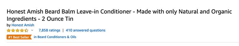 Amazon Title Example