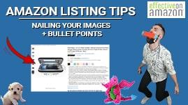 Amazon Listing Tips Video Thumbnail