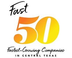 Fast 50 logo custom