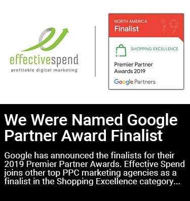 Effective Spend Google Partners Award Thumbnail