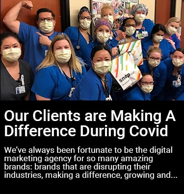 How our Clients are Making a Difference During Covid Thumbnail