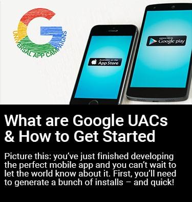 What are Google UACs Thumbnail