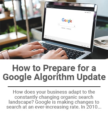 How to Prepare for a Google Algorithm Update Thumbnail Mini