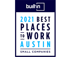 Built in Austin 2021 Best Places to Work