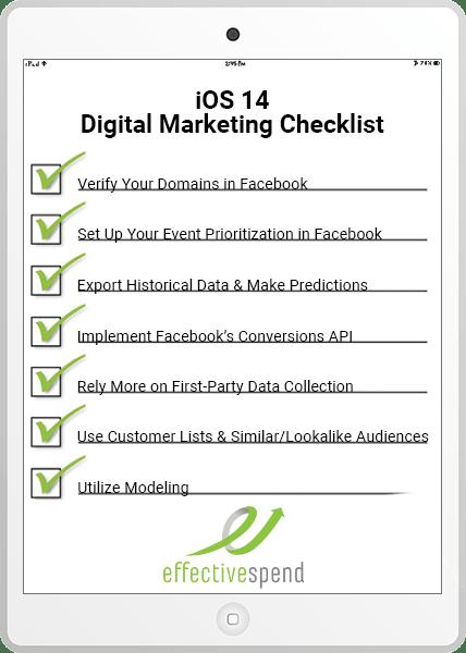 iOS 14 Digital Marketing Checklist